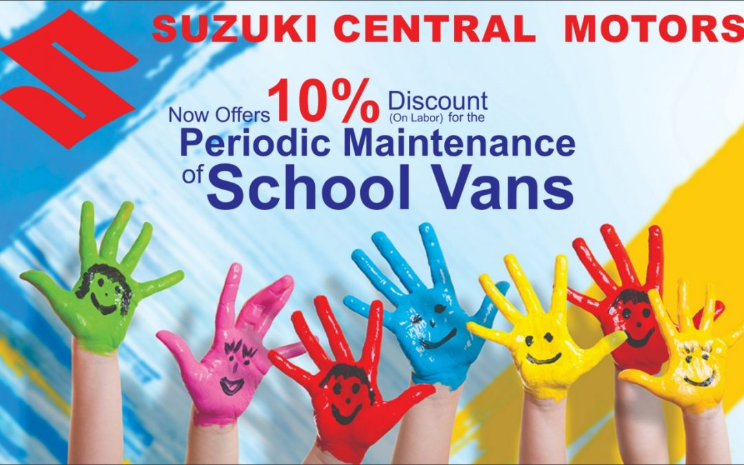 Maintance of school vans