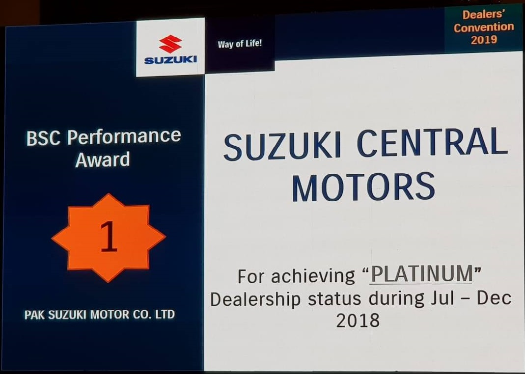 Suzuki Central Motors No 1