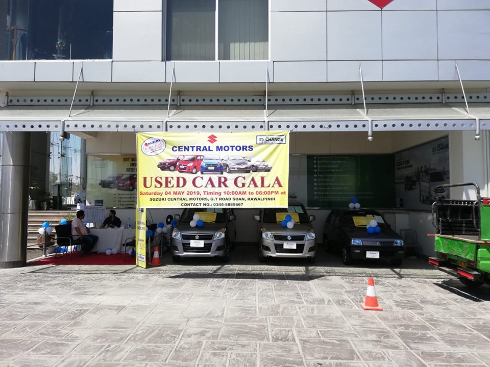 Used Car Gala At Suzuki Central Motors  4/5/2019