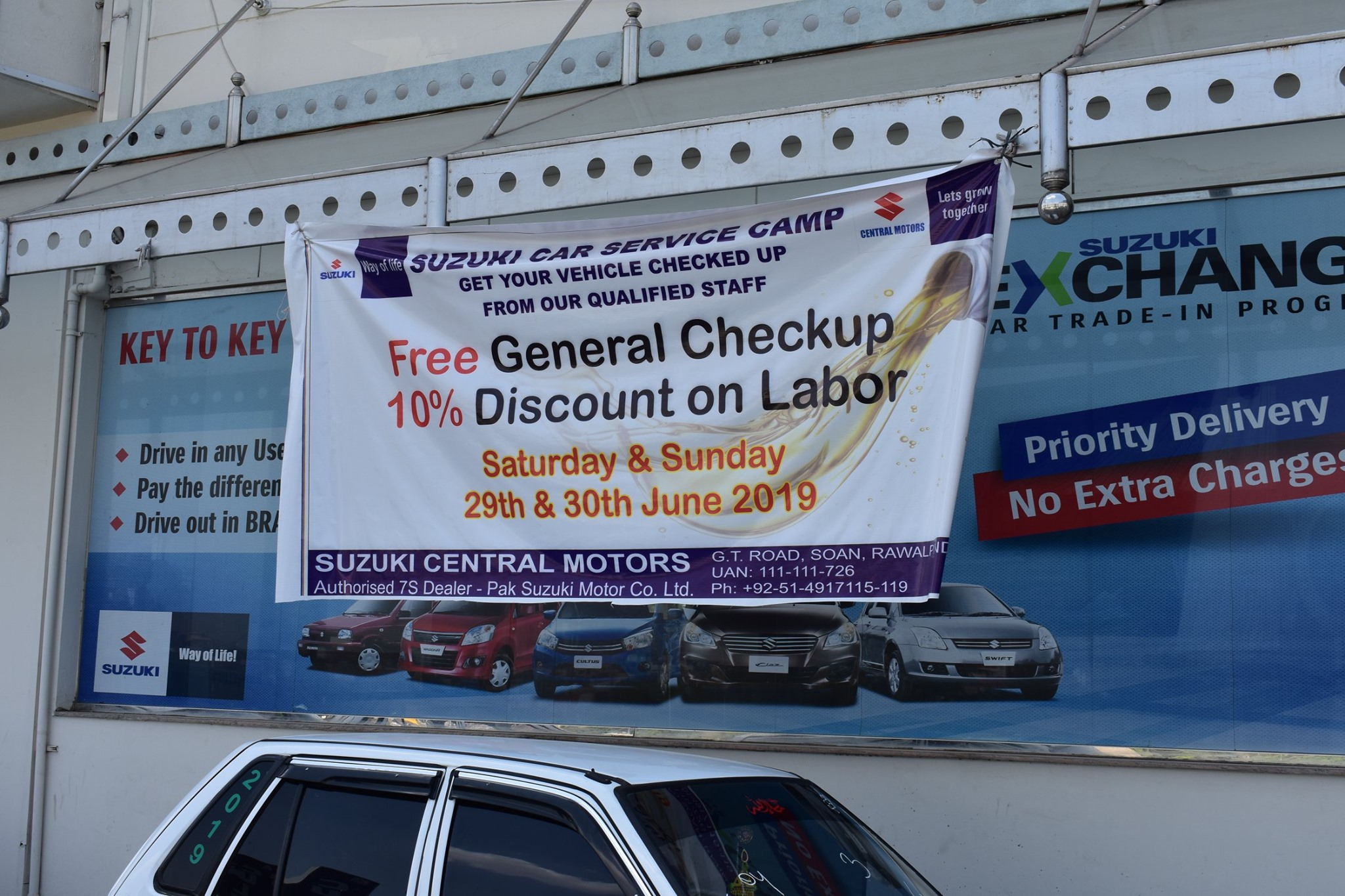 In-House Campaign For Customer Satisfaction held at suzuki central motors on 29 & 30 june 2019